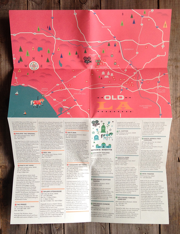 Image of How to Find Old LA - Map