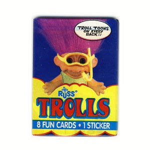 Image of TROLL DOLLS CARDS AND STICKERS - TOPPS 1992