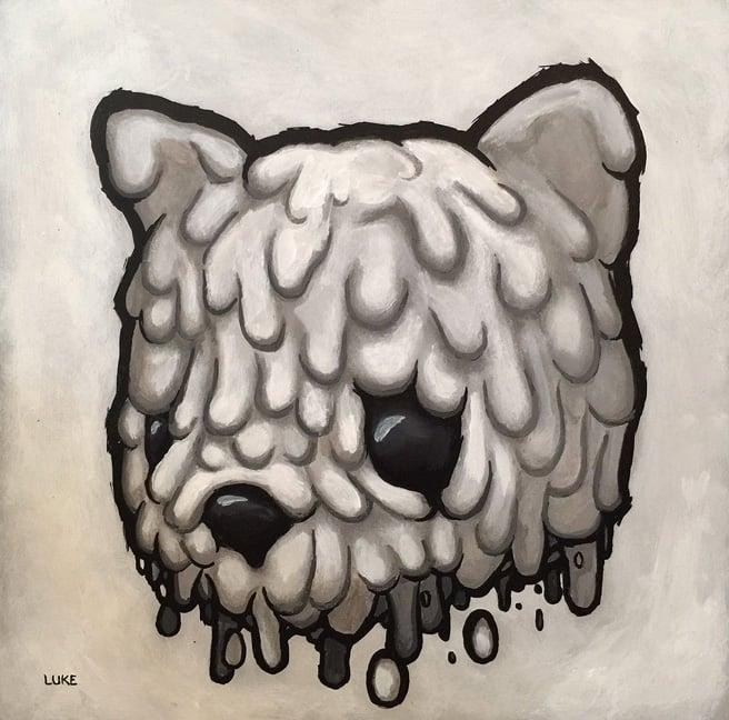 Image of Luke Chueh 'Melting' original art