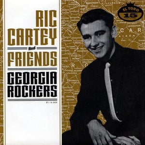 "Image of 7"" EP Ric Cartey & Friends : Georgia Rockers. Ltd Edition 300 copies."