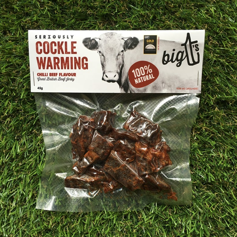 Image of Chilli Beef Flavour Jerky