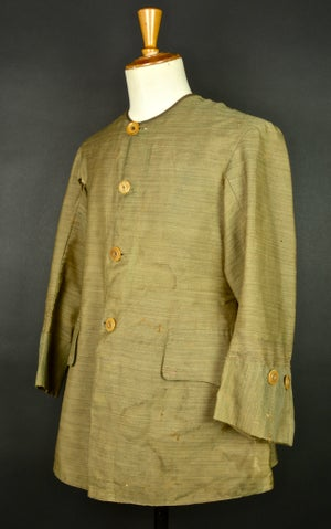 Image of 1850'S FRENCH INDIA COLONIST SILK JACKET