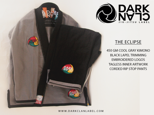 "Image of Dark Clan ""Eclipse"" Kimono"