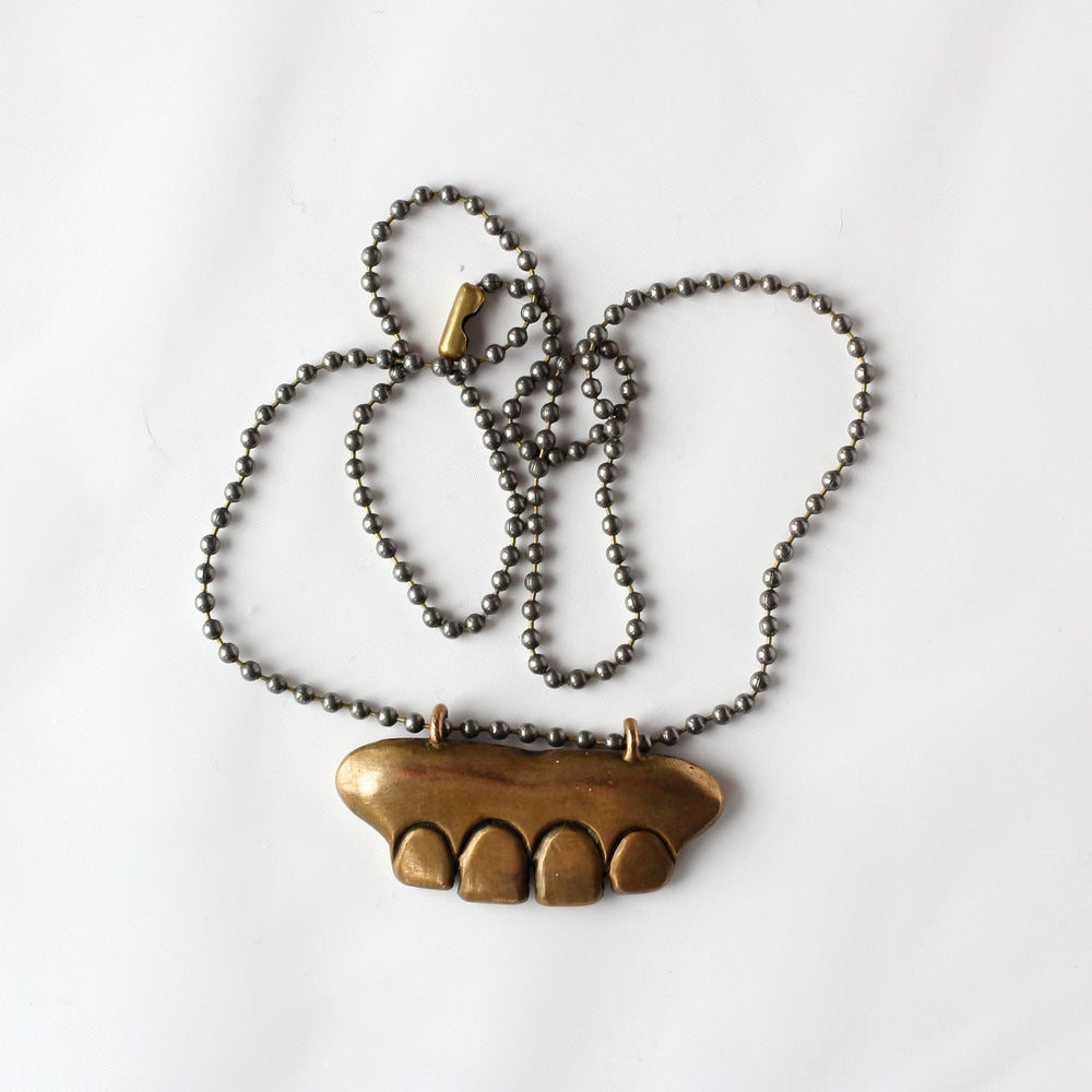 Image of 4TeethMarks Necklace