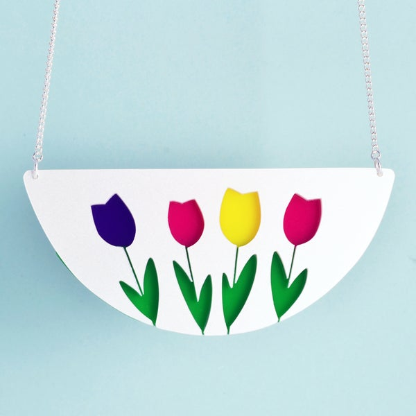 Image of Tulip necklace