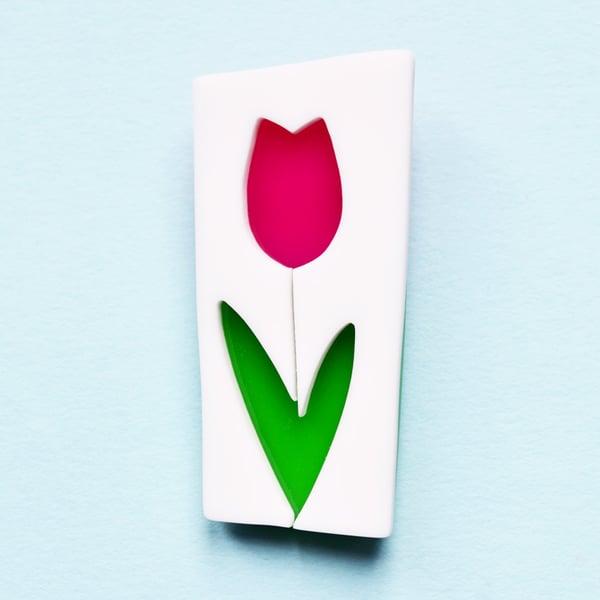 Image of Tulip brooch
