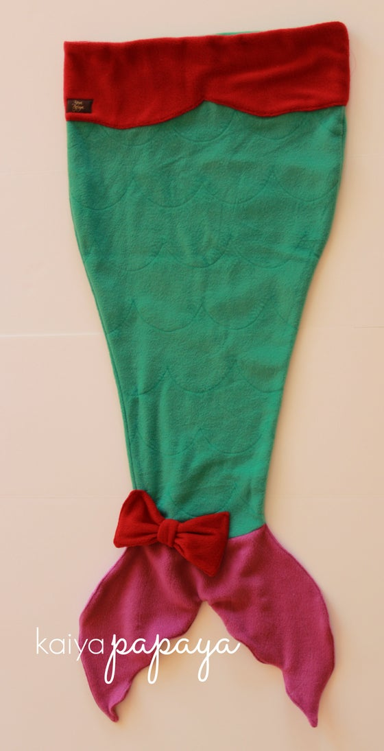 Image of Mermaid Tail Blanket