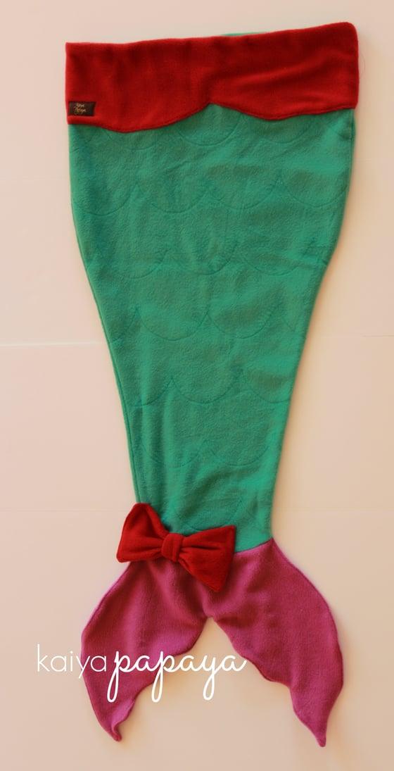 Image of Mermaid Tail Blanket