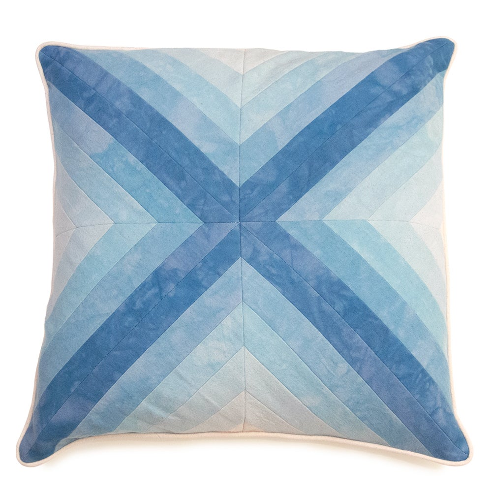 Image of Apex Pillow - Blue II