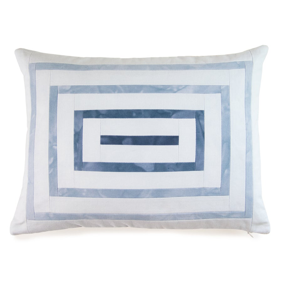 Image of Ripple Pillow - Blue
