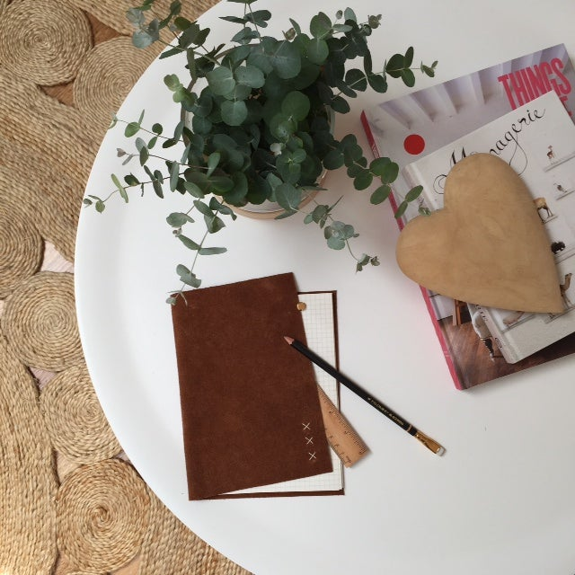 Image of Leather Bound Notepad - more coming soon