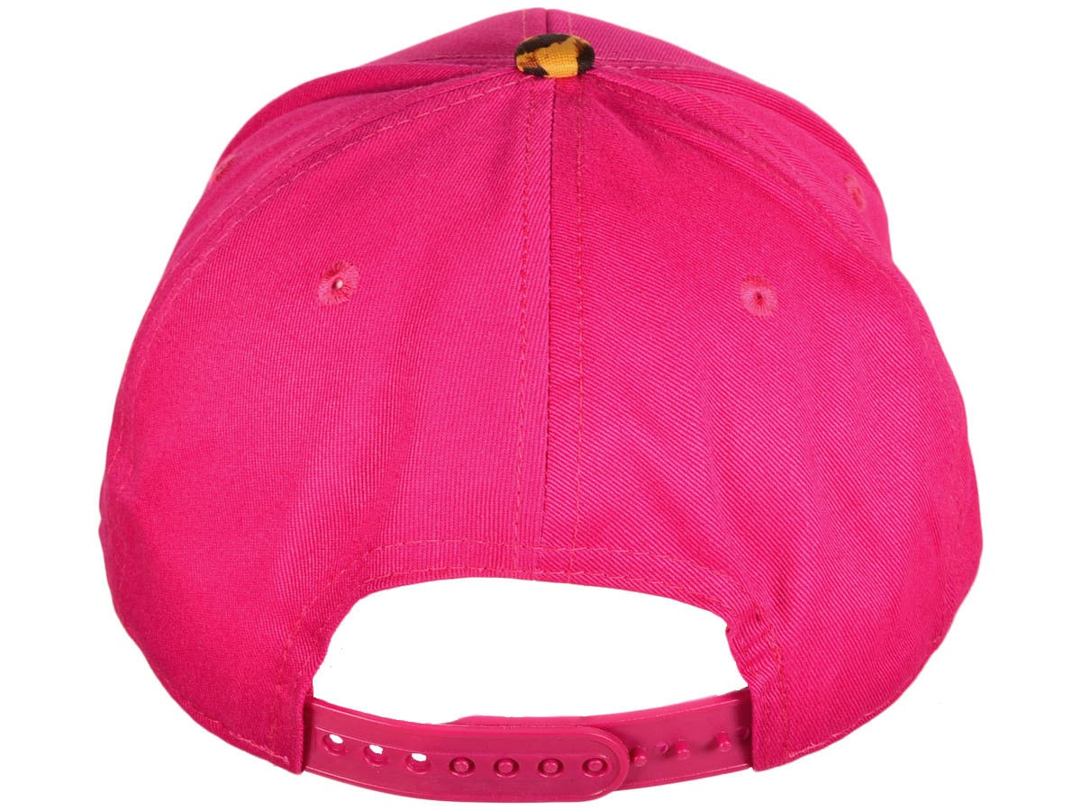 Image of MVA FIRE PINK/CHEETAH 3D SNAPBACK HAT