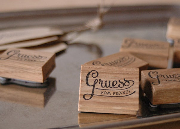 Image of GRUESS VO DIR – personalisierter Stempel