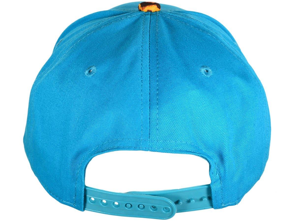 Image of MVA MINT-TURQUOISE/CHEETAH 3D SNAPBACK HAT