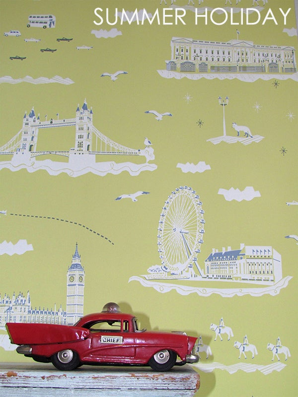 Image of Wallpaper Sample: Wish You Were Here London