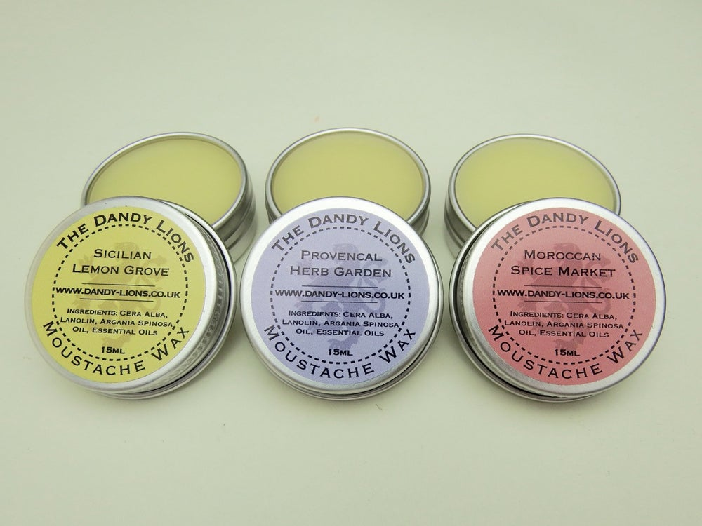 Image of The Popular Moustache Wax Trio