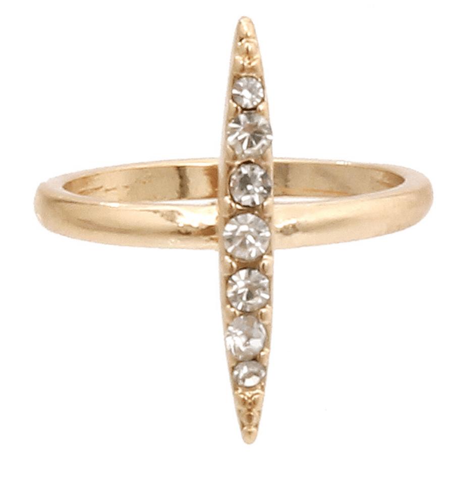 Image of Bar stone ring
