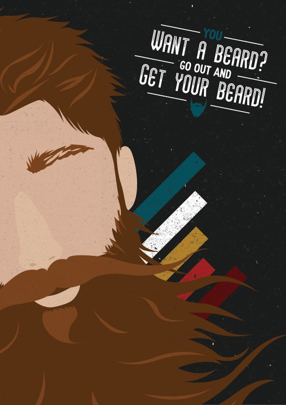 Image of Beard Poster