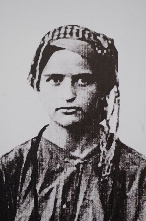 Image of Youssef Ousaid Girl with Camera print