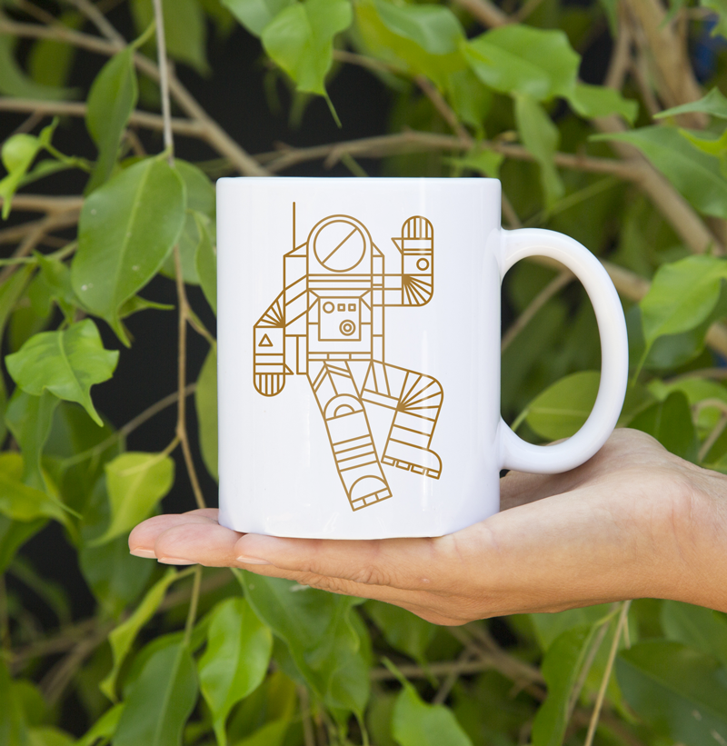 Image of Hello Spaceman Mug
