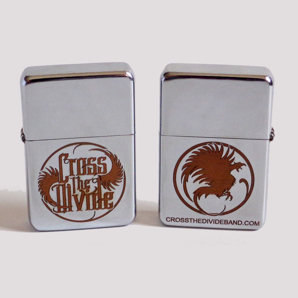 Image of Cross the Divide - NEW Etched Lighters