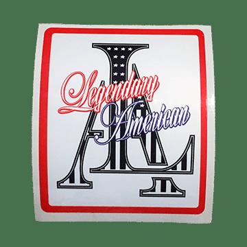 Image of Legendary American LA Stars sticker