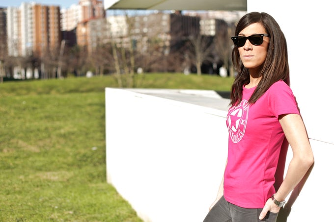 Image of Camiseta chica Rosa Zoriontasun