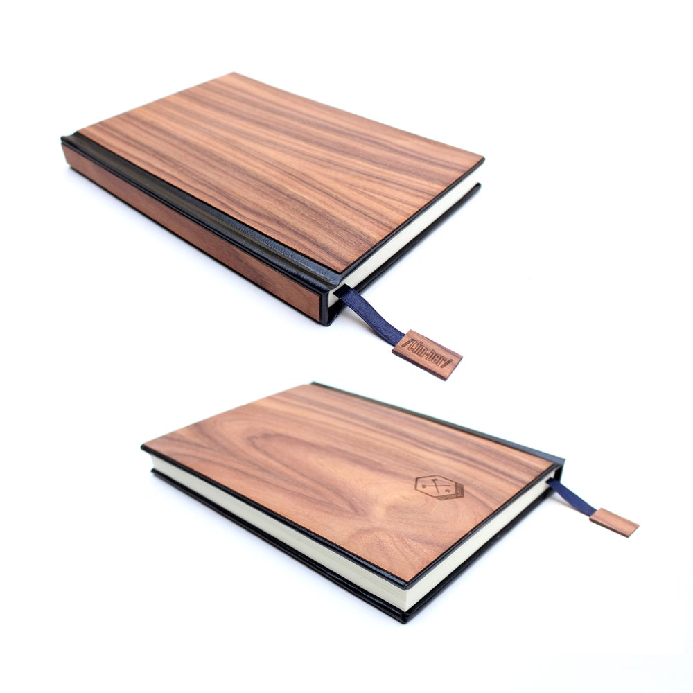 Image of TIMBER Wood Skin (Lined) Journal Large