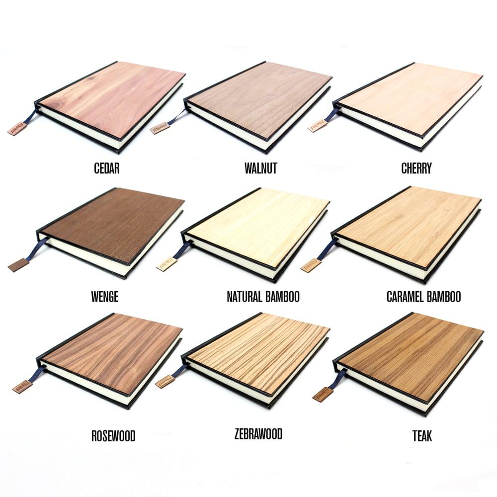 Image of TIMBER Wood Skin (Blank) Journal Large