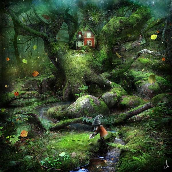"""Autumn seeds"" - Alexander Jansson Shop"
