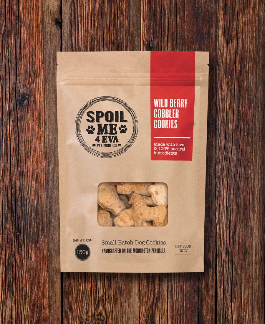Image of Wild Berry Cobbler Dog Cookies