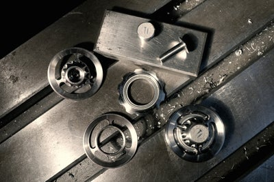 Image of Ti Parts Workshop Titanium Chain Tensioner Wheel