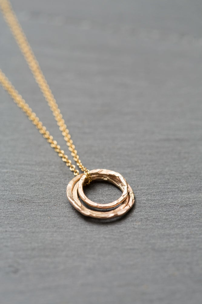 Image of Ana yellow gold plated