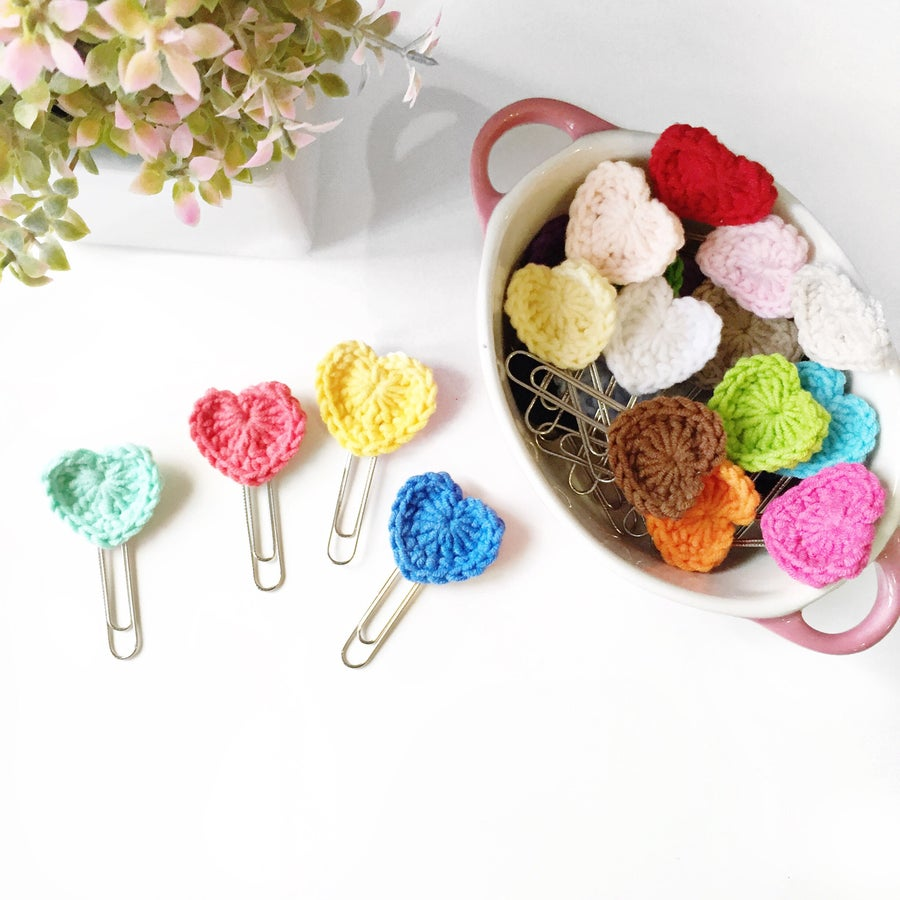 Image of Handmade | Heart Paper Clips