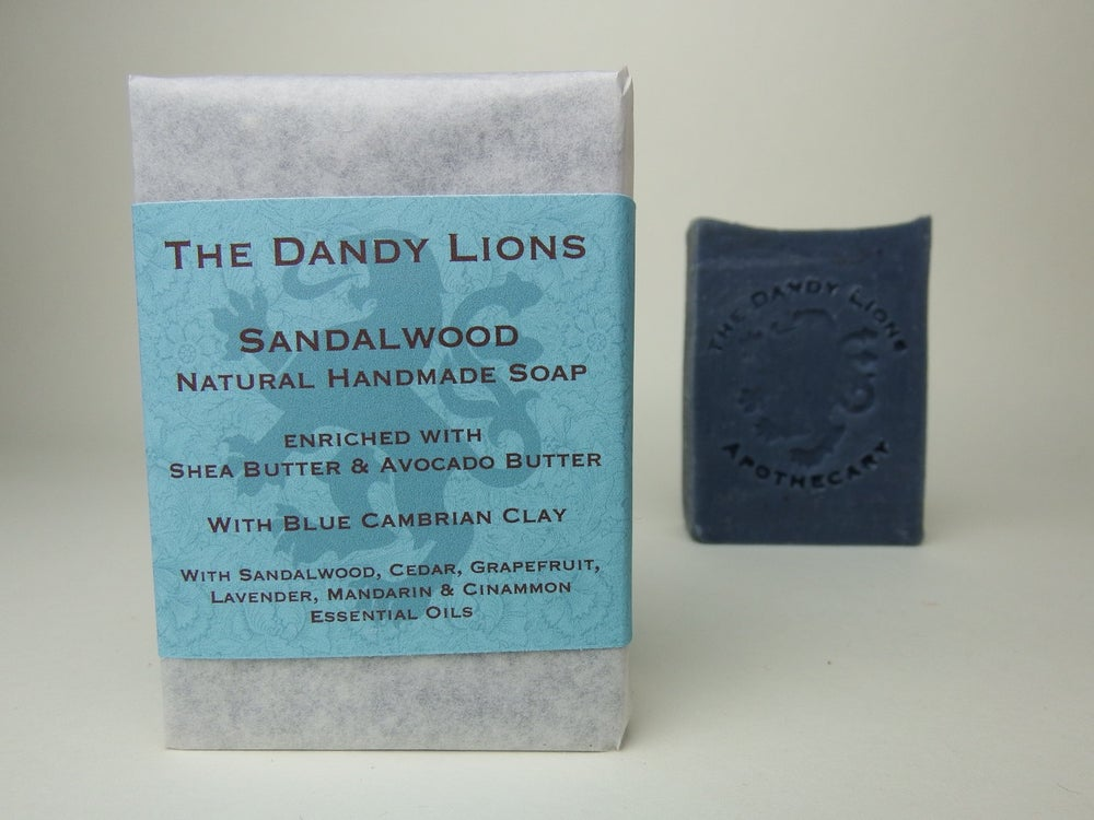 Image of Sandalwood Soap enriched with Shea Butter