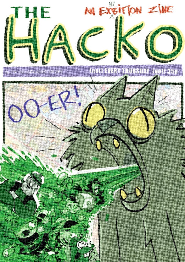 Image of The HACKO (PHYSICAL BOOK)