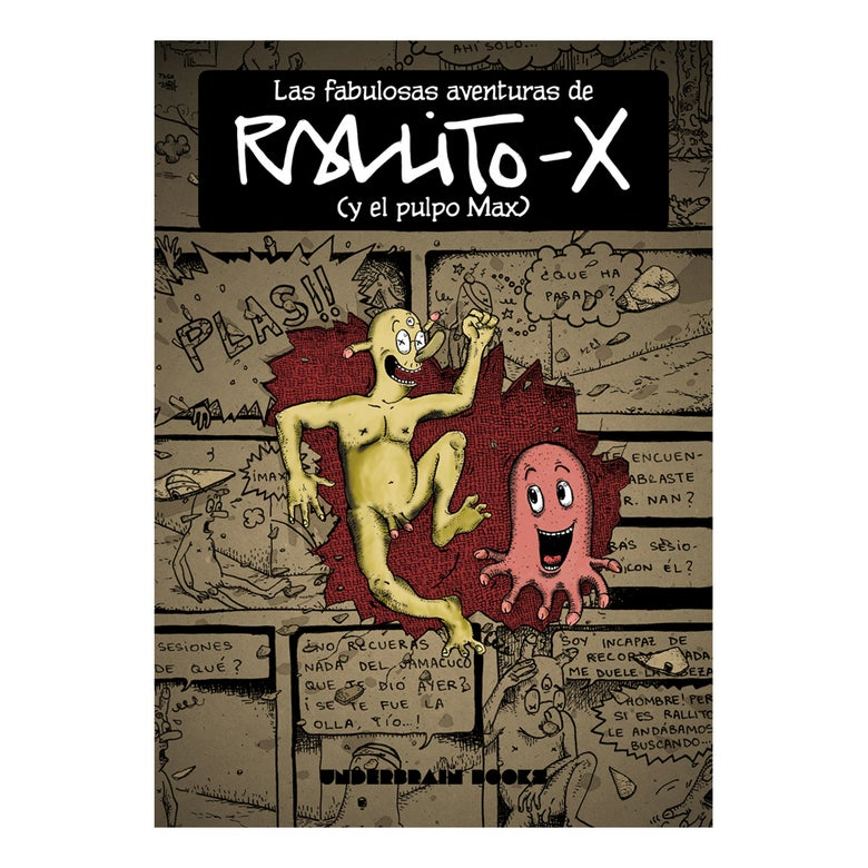Image of Comic book - Rallitox y el pulpo max -