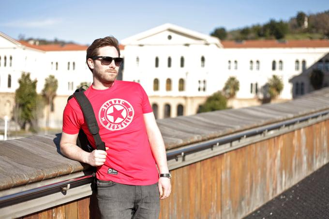 Image of Camiseta unisex Roja Ath
