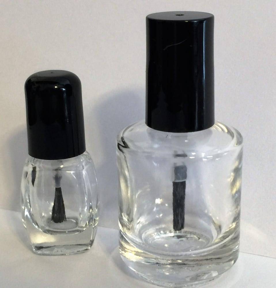 Image of Nail Polish Bottles </p> 2 Sizes Available