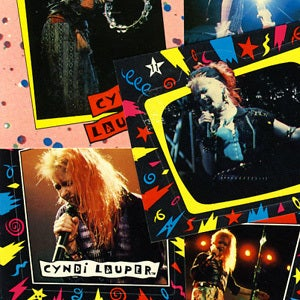 Image of CYNDI LAUPER TRADING CARDS AND STICKERS - 1985