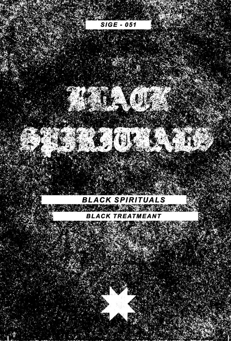 "Image of Black Spirituals ""Black Treatment"" cassette"