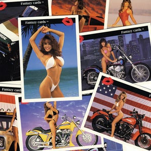 "Image of ""FANTAZY"" SEXY LADIES TRADING CARDS"