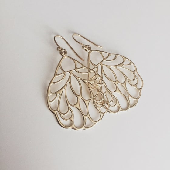 Image of Gold Dangle Earrings