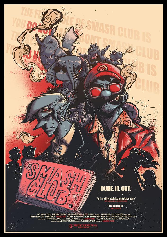 """Image of PRINT- Smash Club (11"""" x 17"""")"""