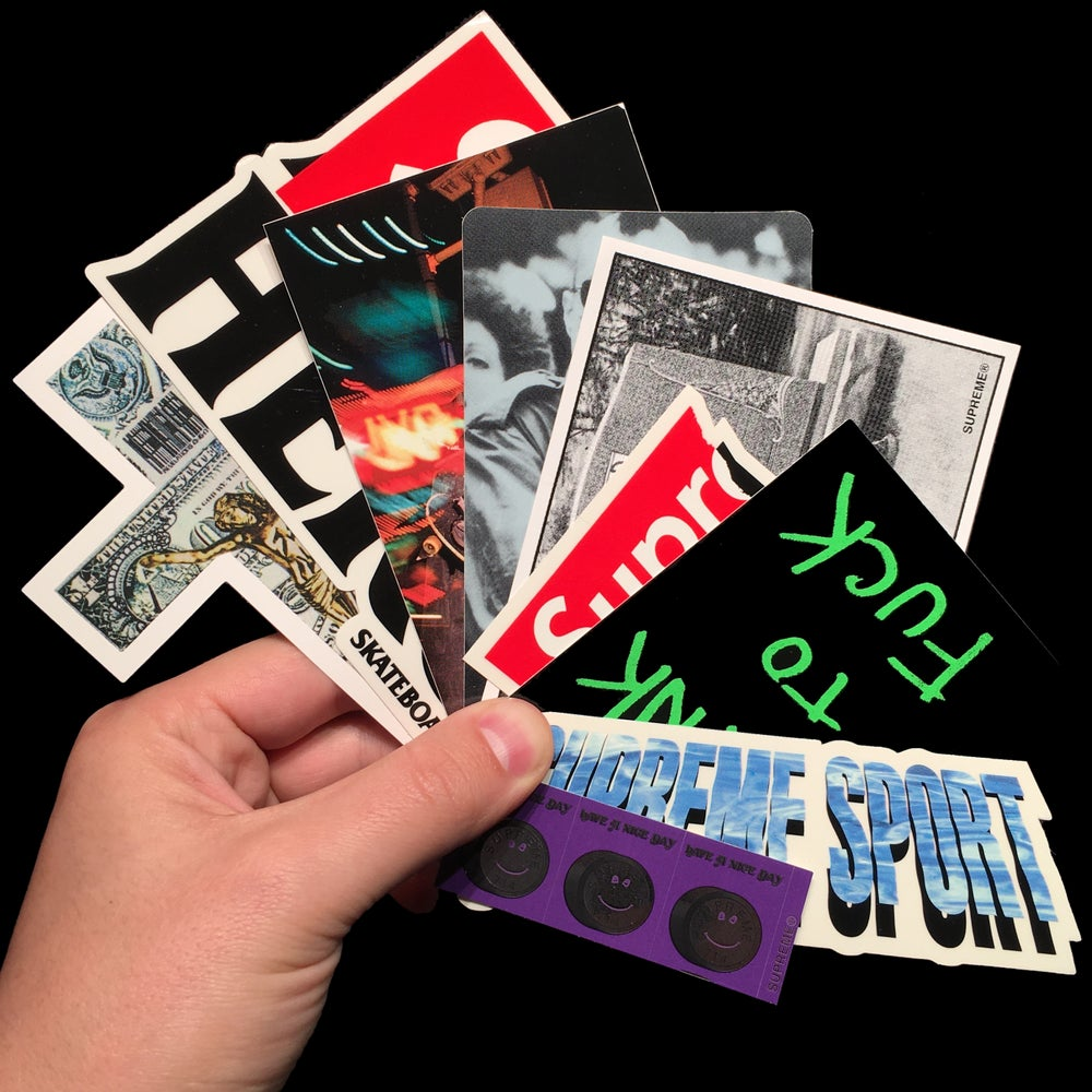Image of 2014 Stickers (Dead Kennedys/Anti Hero/Taxi Driver/CDG)