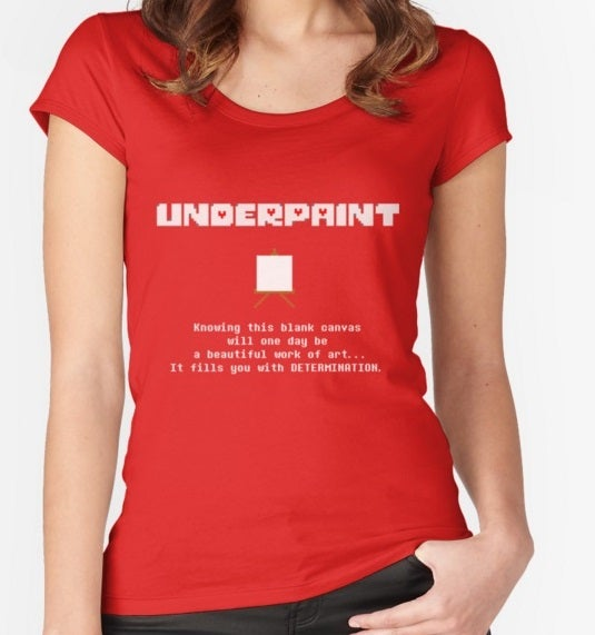 Image of UNDERPAINT Women's Fitted Tee
