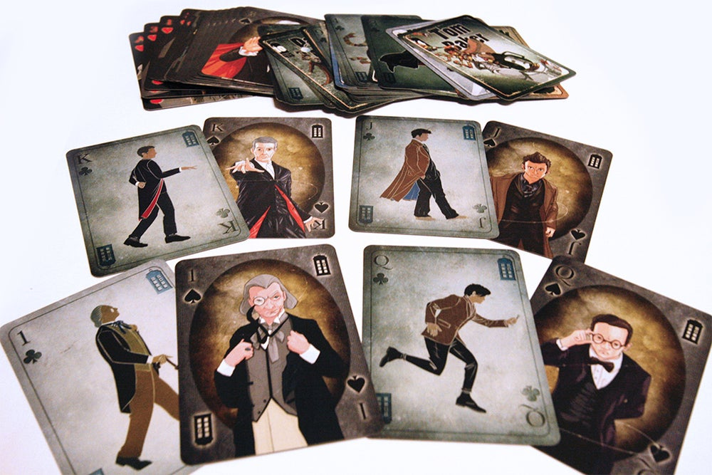 Image of DR Who Deck of Cards