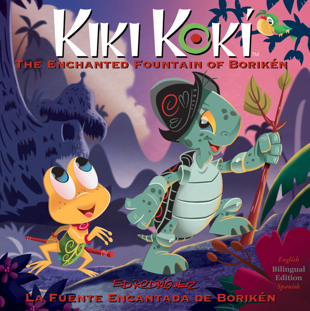 Image of Kiki Koki the Enchanted Fountain of Borikén (Bilingual edition)