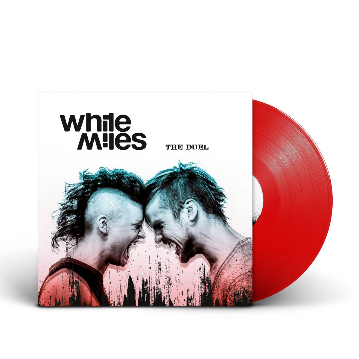 "Image of White Miles ""The Duel"" LP"