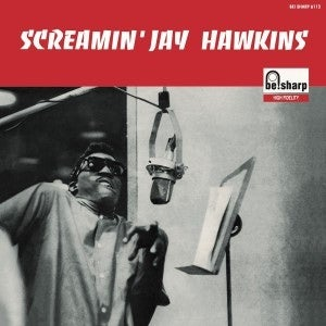 "Image of Back In Stock. 10"" LP Screamin' Jay Hawkins : S/T.  Ltd edition repro of French classic."